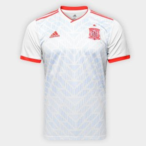 Camisa Seleção Espanha Away 18 19 Torcedor Adidas Masculina 6daec5d2a7a57