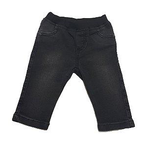 Calça Jeans Bebê Menino Jeito Infantil Preta