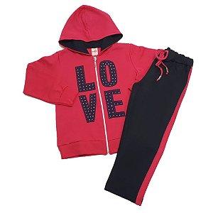 Conjunto Infantil Love Isensee Pink