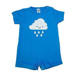 Macaquinho Bebê Nuvem Sonho Do Bebê Azul