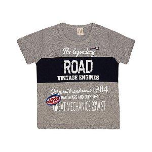 Camiseta Infantil Road Kibs Kids Mescla