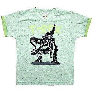 Camiseta Infantil T-Rex Ralakids Verde