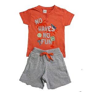 Conjunto Infantil No Waves Ralakids Laranja