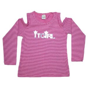Blusa Infantil It Girl Ralakids Rosa
