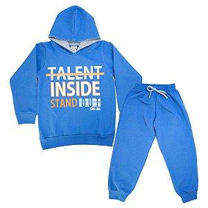Conjunto Infantil Talent Inside Kibs Kids Azul