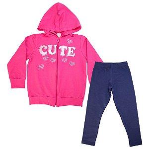Conjunto Infantil Cute Kibs Kids Pink