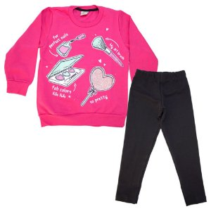Conjunto Infantil Maquiagens Kibs Kids Pink