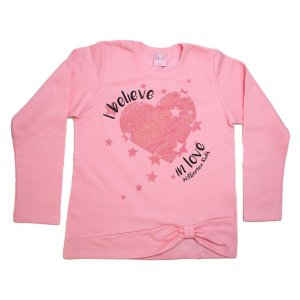 Casaco Juvenil In Love Wilbertex Rosa