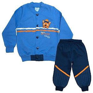 Conjunto Infantil Tiger Wilbertex Azul