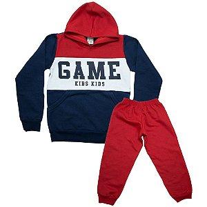 Conjunto Infantil Game Kibs Kids Vermelho