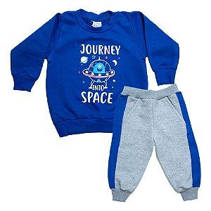 Conjunto Bebê Space Molekada Royal