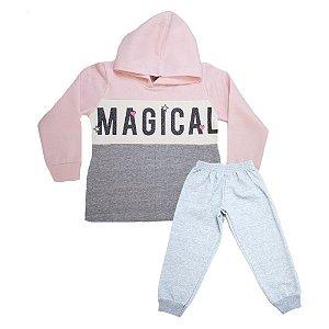 Conjunto Infantil Magical Kibs Kids Mescla