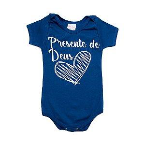 Body Bebê Frase Presente De Deus  Kentury Royal