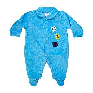 Macacão Bebê Bear Isensee Azul