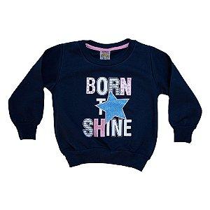 Casaco Infantil Born Shine Ninando Marinho