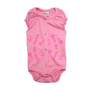Body Bebê Sou Do Vovô Andrinaty Rosa e Rosa