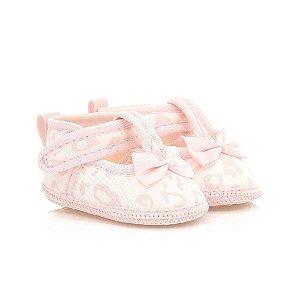 Sapatilha Bebê Oncinha Baby Gut Rosa