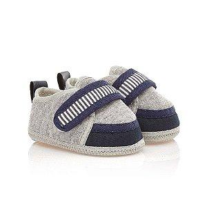 Tênis Bebê Com Velcro Baby Gut Mescla