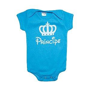 Body Bebê Príncipe Meu Bebê Azul