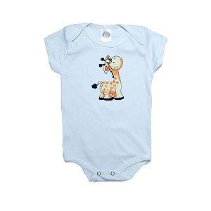 Body Bebê Girafa Meu Bebê Branco