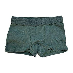 Cueca Boxer Infantil Taurus Verde