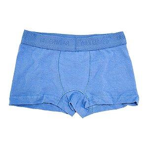 Cueca Boxer Infantil Taurus Azul