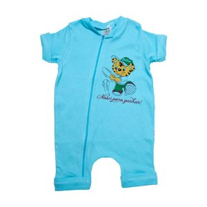 Macaquinho Bebê Tigre G Kids Azul