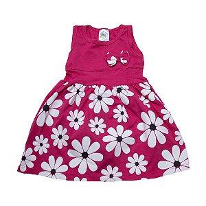 Vestido Infantil Margarida Hsa Pink
