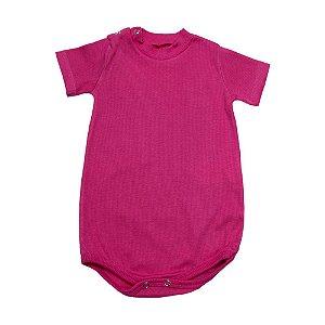 Body Bebê Canelado Baby Gut Pink