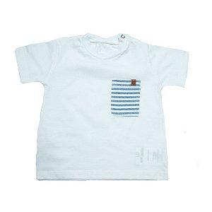 Camiseta Bebê Baby Gut Pérola