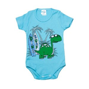 Body Infantil Dino Surf G Kids Azul