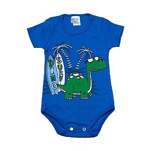 Body Infantil Dino Surf G Kids Azul Royal