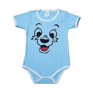Body Infantil Dog G Kids Azul