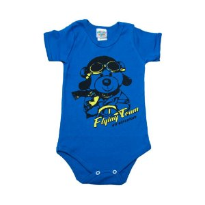 Body Infantil Dog Aventureiro G Kids Royal