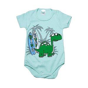 Body Infantil Dino Surf G Kids Verde