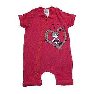 Macacão Bebê Menina G Kids Vermelho