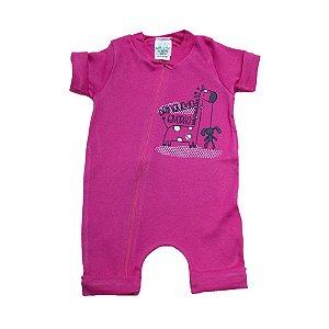Macaquinho Bebê Girafa G Kids Pink