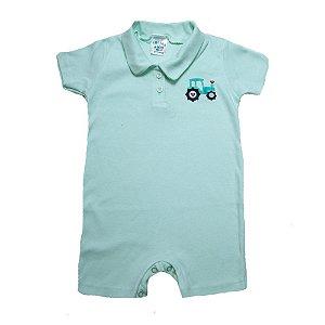 Macaquinho Infantil Com aplique G Kids Verde
