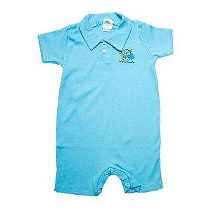 Macaquinho Infantil Com Aplique G Kids Azul