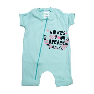 Macacão Bebê Loves G Kids Verde