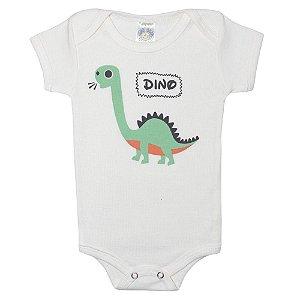 Body Bebê Dino Meu Bebê Pérola