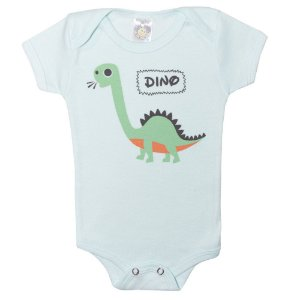Body Bebê Dino Meu Bebê Verde