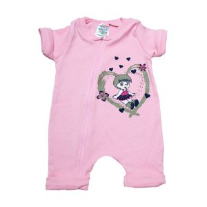 Macacão Bebê Menina G Kids Rosa