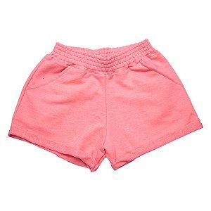 Shorts Infantil/ Juvenil Neon Ninando Rosa