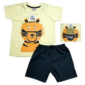 Conjunto Bebê Tiger Ninando Amarelo