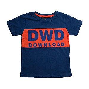 Camiseta Infantil DWD Ninando Marinho