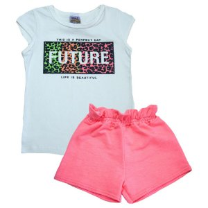 Conjunto Infantil Future Ninando Pérola