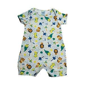 Macaquinho Bebê Safari Sonho Do Bebê Mescla