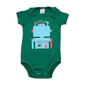 Body Bebê Robô Dlook Verde