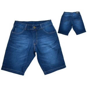 Bermuda Jeans  Juvenil  Pop Jeito Infantil Marinho